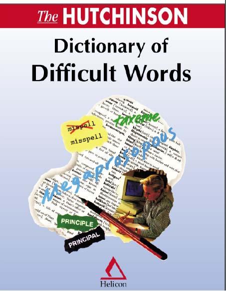 انگلیسی دانلود کتاب دیکشنری کلمات سخت