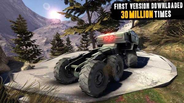 تکامل کامیون ها دانلود بازی اتومبیل رانی تکامل کامیون ها برای آندروید + مود