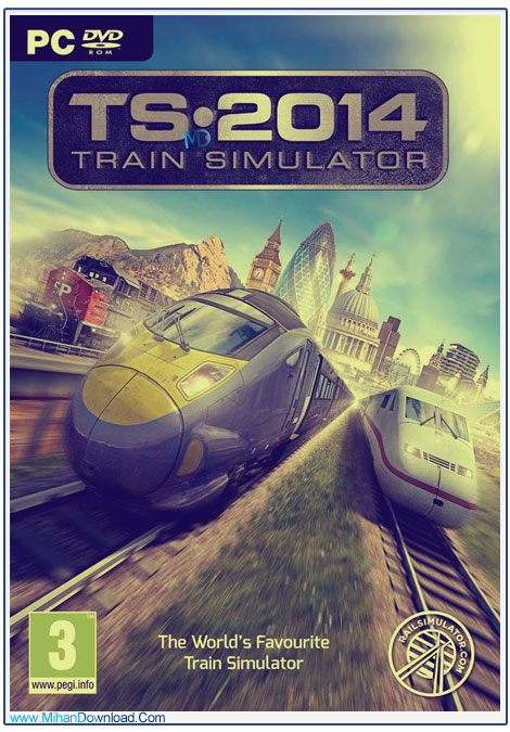 دانلود بازی Train Simulator 2014 Steam Edition شبیه ساز قطارهای پرسرعت 1 دانلود بازی Train Simulator 2014 Steam Edition شبیه ساز قطارهای پرسرعت
