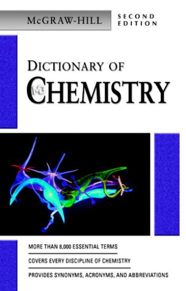 دیکشنری دانلود کتاب لغت نامه شیمی