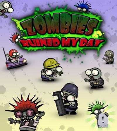 زامبی دانلود بازی اکشن و کم حجم زامبی های اعصاب خورد کن  Zombies Ruined My Day