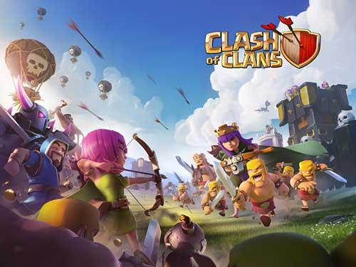 دانلود بازی کلش آف کلنز Clash of Clans v8.551.5 برای اندروید