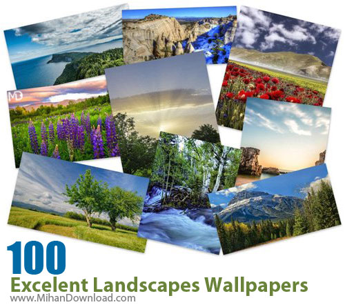 100 Excelent Landscapes Wallpapers دانلود Excelent Landscapes Wallpapers عکس مناظر فوق العاده