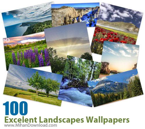 100 Excelent Landscapes Wallpapers دانلود Excelent Landscapes Wallpapers عکس مناظر فوق العاده