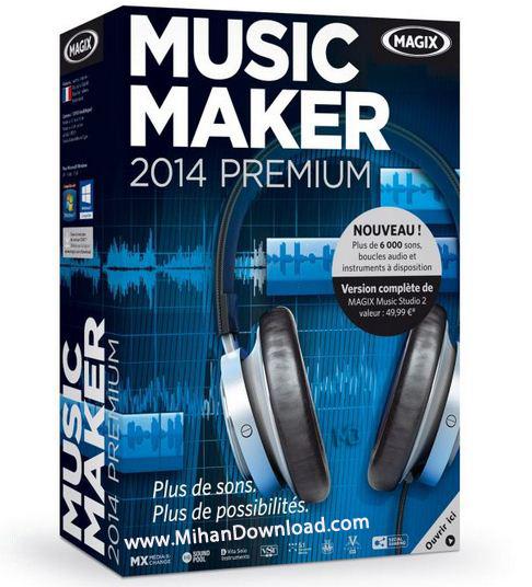 11 دانلود MAGIX Music Maker 2014 Premium 20 0 2 35 نرم افزار ساخت آهنگ