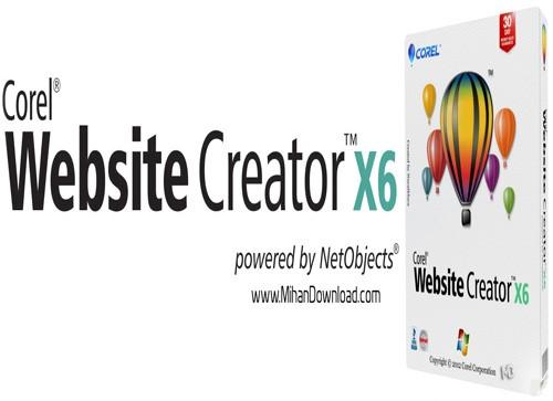 110 دانلود طراحی سایت Corel Website Creator X6 12 50 0 5126
