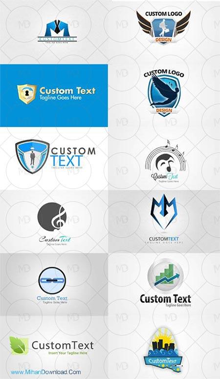 12 logo دانلود وکتور 12 لوگوی لایه باز حرفه ای