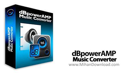 1243239627 دانلود dBpoweramp نرم افزار تبدیل فرمت های صوتی