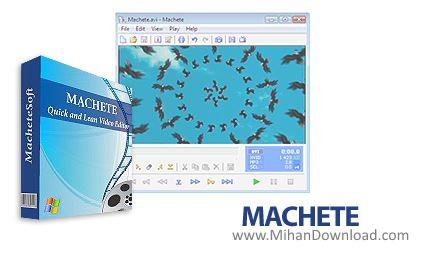 1316328770 machete دانلود Machete نرم افزار ادیت و پخش فایل های چندرسانه ای