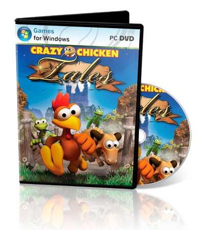 1317997538 crazychickentales2011rus1 دانلود بازی کم حجم جوجه دیوانه، افسانه ها Moorhuhn   Crazy Chicken Tales