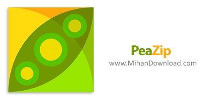 1373107275 peazip دانلود PeaZip نرم افزار فشرده سازی و مدیریت فایل های آرشیو