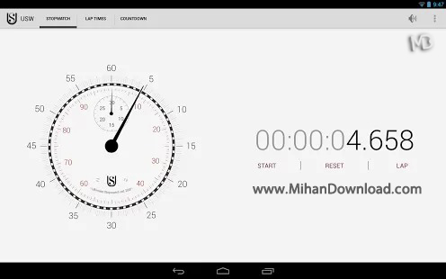 1376641431 stop1 دانلود نرم افزار Ultimate Stopwatch and Timer   اندروید