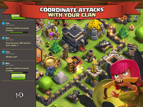 1380572093 clash of cslans دانلود بازی استراتژیکی Clash of Clans   اندروید