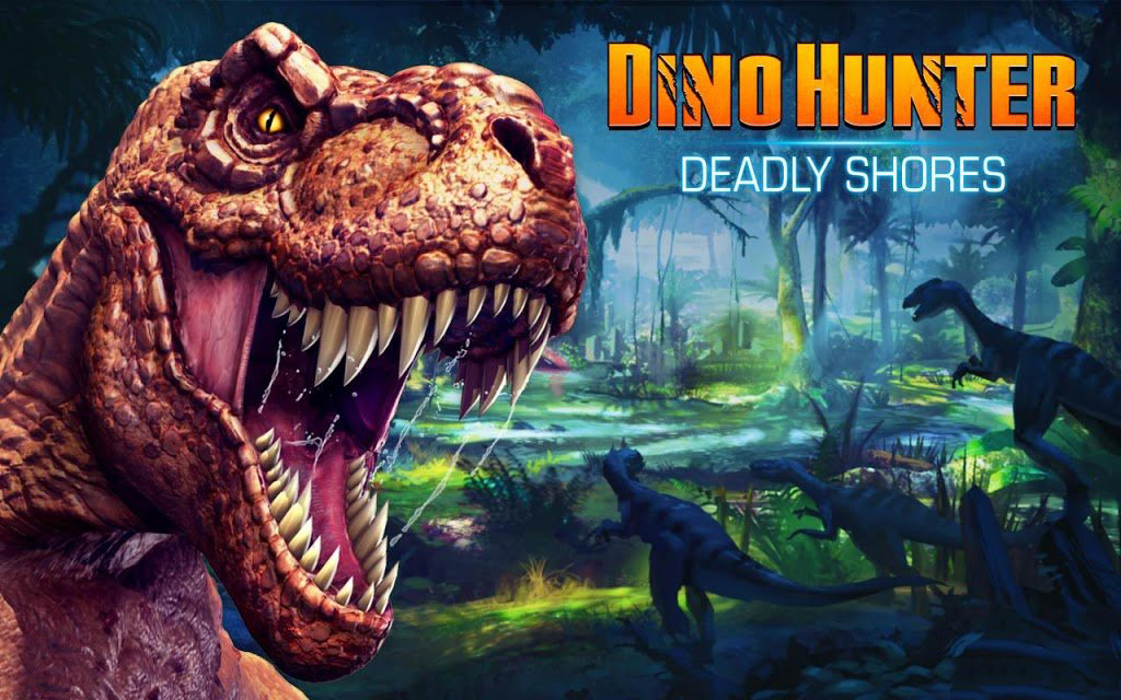 1411039188 dino hunter deadly shores 1 دانلود بازی DINO HUNTER: DEADLY SHORES 3.0.1 شکارچی دایناسور برای آندروید  + مود