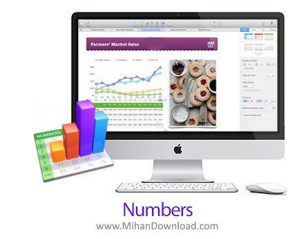 1412251040 numbers 3.2.2 دانلود Numbers نرم افزار ساخت صفحه گسترده در مک