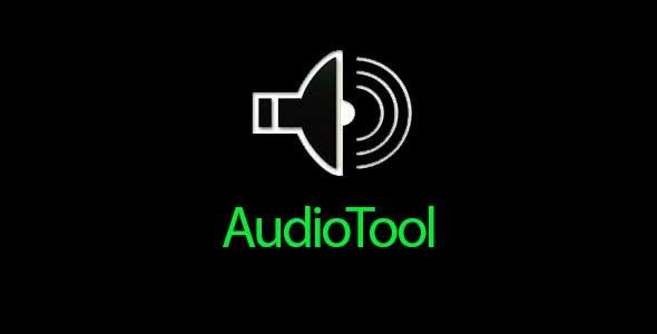 دانلود نرم افزار ویرایش صوت و موزیک AudioTool 7.2.4