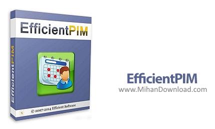 1441540988 efficientpim دانلود EfficientPIM نرم افزار مدیریت و برنامه ریزی امور شخصی