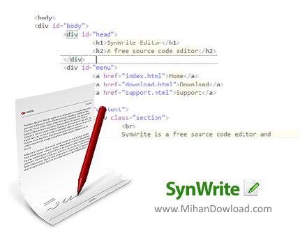 1454850120 synwrite دانلود SynWrite نرم افزار ویرایشگر کد برنامه نویسی