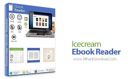 1463311689 icecream ebook reader دانلود نرم افزار مدیریت و مطالعه کتاب های الکترونیکی