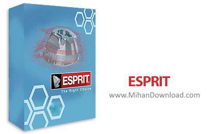 1464519435 esprit دانلود ESPRIT نرم افزار شبیه سازی عملیات های برش