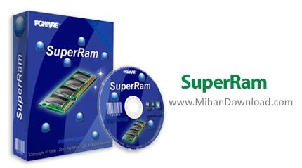 1468217229 superram دانلود SuperRam نرم افزار نرم افزار بهینه سازی حافظه رم
