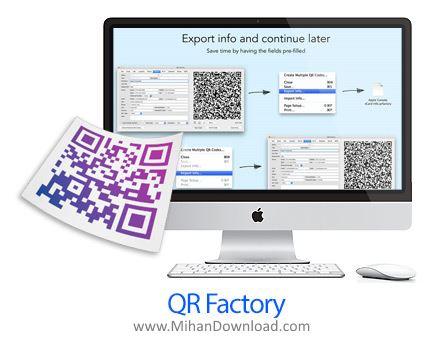 1468942872 qr factory3 دانلود QR Factory   Professional QR Code Creator نرم افزار ساخت کیو آر کد