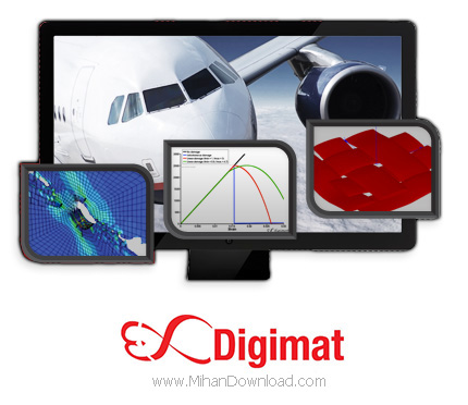 1471519365 digifmat دانلود نرم افزار شبیه سازی و مدلسازی مواد و سازههای کامپوزیتی