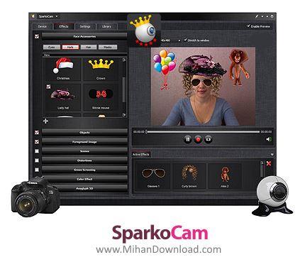 1478951209 sparkocam دانلود SparkoCam نرم افزار مدیریت وب کم