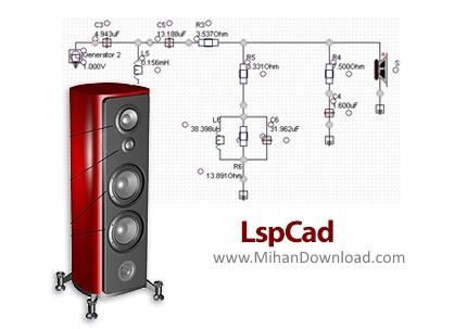 1487507997 lspcad دانلود LspCad نرم افزار طراحی جعبه و سیستم بلندگو