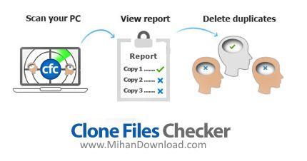 1493809485 clone files checker دانلود Clone Files Checker نرم افزار شناسایی و حذف فایل های یکسان