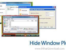 Hide Window Plus