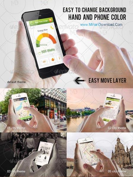 21 Phone 5s high resolution دانلود 21 موک آپ حرفه ای موبایل