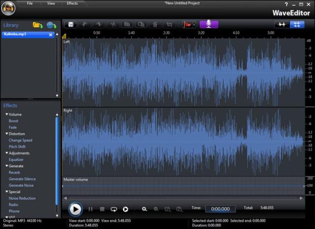 221357 cyberlink media suite 8 ultra waveeditor دانلود نرم افزار ویرایشگر فایل های صوتی CyberLink WaveEditor 2.0