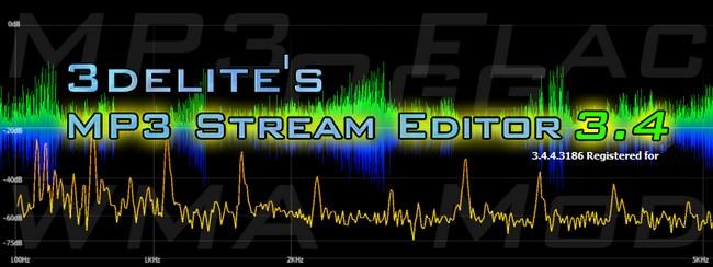 3delite  دانلود 3delite MP3 Stream Editor 3.4.4.3188 نرم افزار ویرایش فایل صوتی