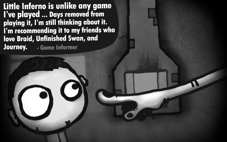 446 دانلود بازی سرگرم کننده Little Inferno 1.2.1 اندروید