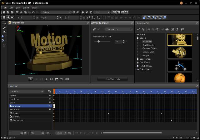 5595+ دانلود نرم افزار طراحی سه بعدی Corel Motion Studio 3D 1 0 0