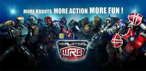 58494 دانلود بازی ربات ها Real Steel HD 1.6.3 اندروید