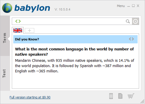 6110345 1 دانلود دیکشنری بابیلون Babylon Pro 10.5.0.12