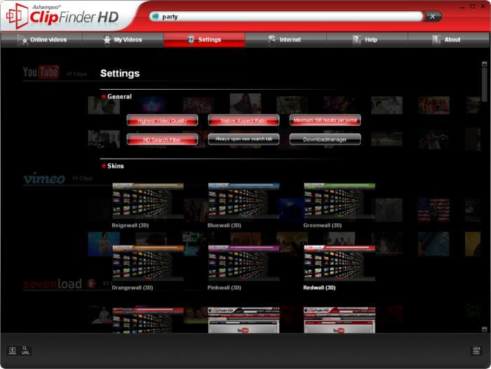 74984+ نرم افزار دانلود از سایت های پخش آنلاین  Ashampoo ClipFinder HD 2 3 5