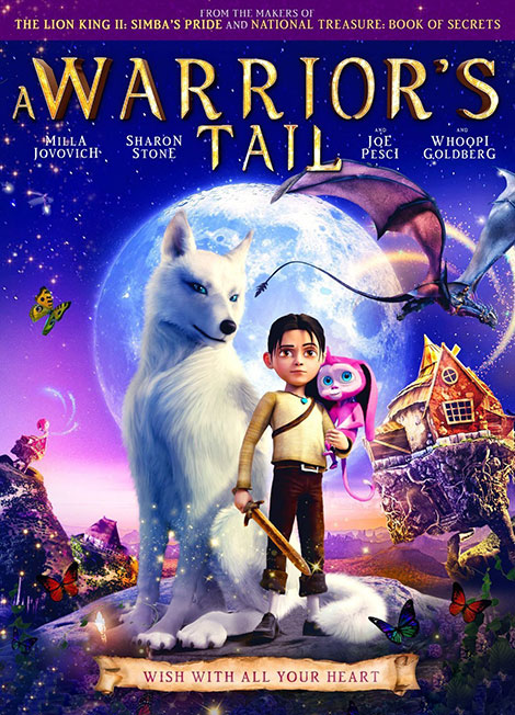A Warriors Tail 2015 دانلود دوبله فارسی انیمیشن A Warrior's Tail 2015