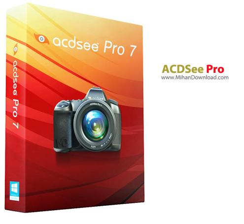 ACDSee Pro دانلود ACDSeePro 7 0 Build 138 نرم افزار مدیریت حرفه ای تصاویر