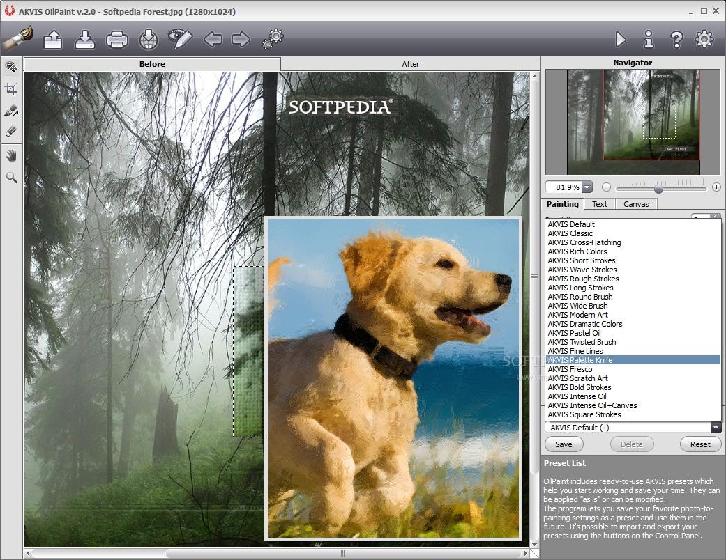 AKVIS OilPaint 4 دانلود AKVIS OilPaint 3.0.304.10 نرم افزار تبدیل عکس به نقاشی
