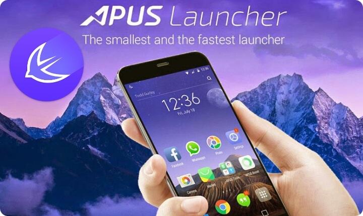 APUS دانلود لانچر سریع و زیبا APUS Launcher 1.9.6 اندروید