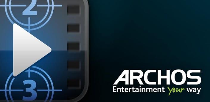 ARCHOS Video Player Splash Banner دانلود نرم افزار پخش ویدئوها Archos Video Player 9.2.28 اندروید