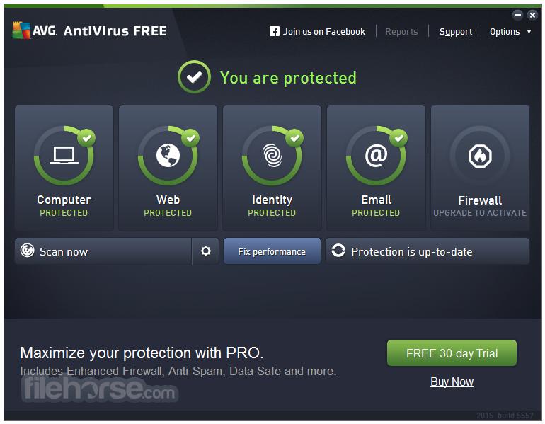 AVG Antivirus Pro screenshot دانلود AVG Antivirus Pro 2016 16.0.7161 نرم افزار آنتی ویروس