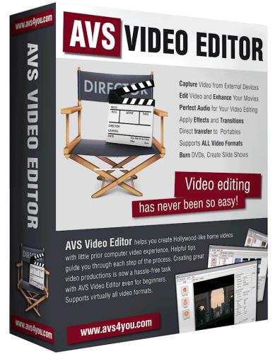 AVS دانلود AVS Video Editor 7.1.1.259 Portable