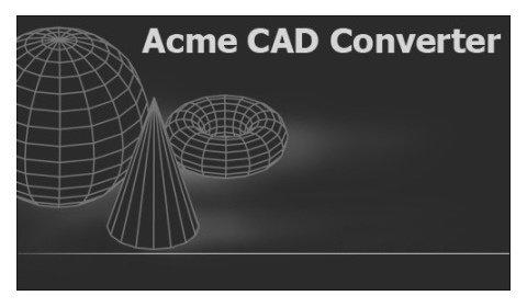 Acme دانلود Acme CAD Converter 2014 8.6.7.1426