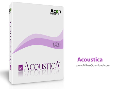 Acoustica نرم افزار ویرایش فایل صوتی Acoustica Premium Edition 6 0 14