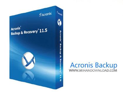 Acronis Backup دانلود نرم افزار پشتیبان گیری و بازیابی اطلاعات سیستم Acronis Backup v12.5.8850 x64 Bootable ISO