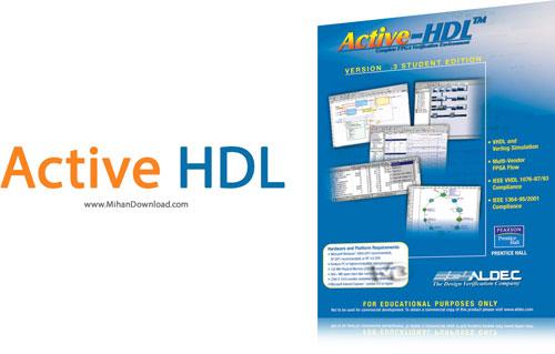 Active HDL نرم افزار  FPGA Active HDL v8 3